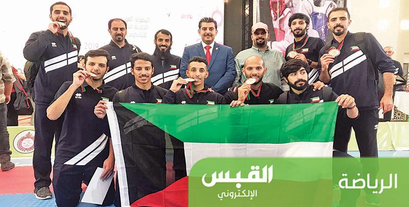 ست ميداليات لمنتخب التايكوندو في «العربية»