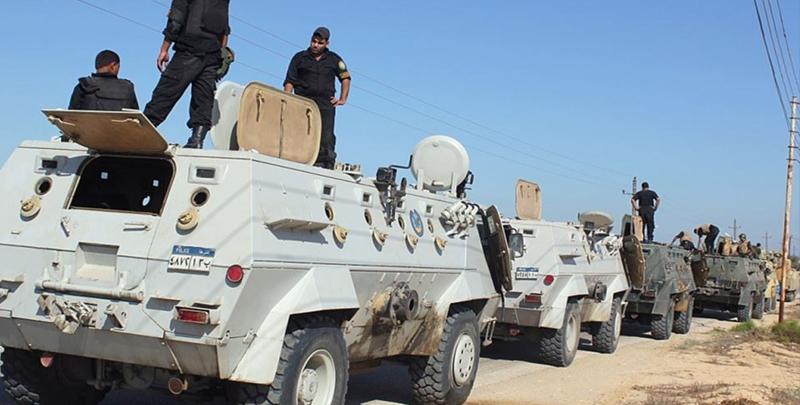 قوات الأمن المصرية تعلن مقتل 16 مسلحًا في العريش