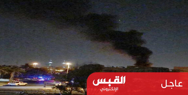 اندلاع حريق بمحول كهربائي بالحرم الجامعي في الخالدية