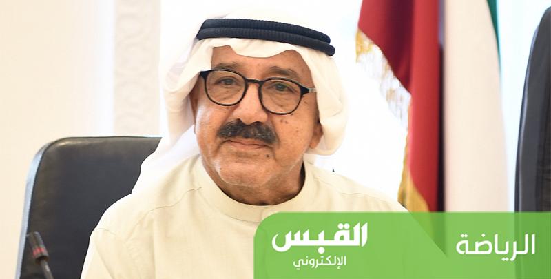 ناصر الصباح يهنِّئ منصور بن زايد