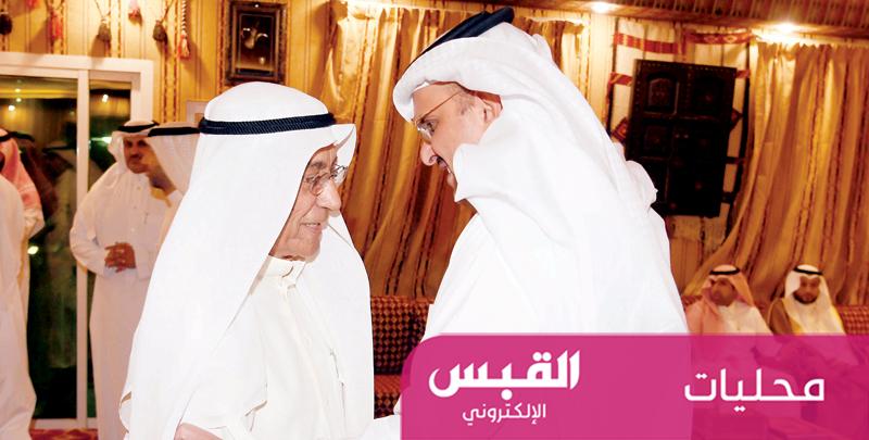 السفير السعودي استقبل المهنئين