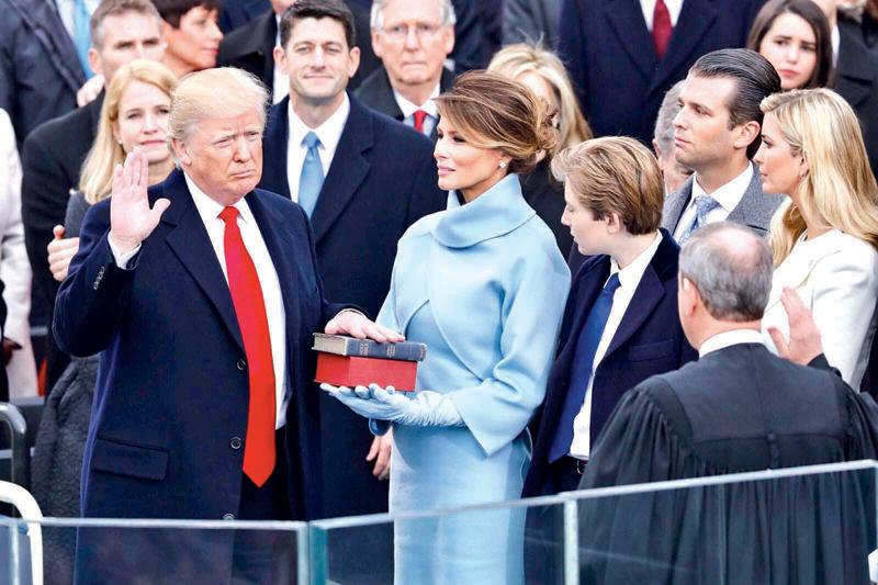 حفل تنصيب دونالد ترامب | ويكبيديا