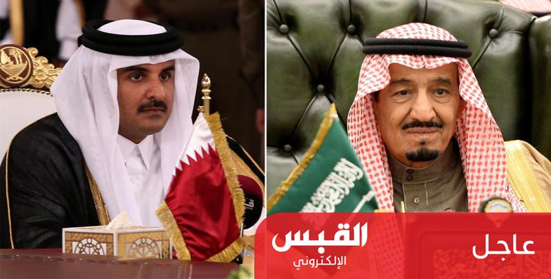 أمير قطر يتلقى دعوة من خادم الحرمين لحضور القمة الطارئة