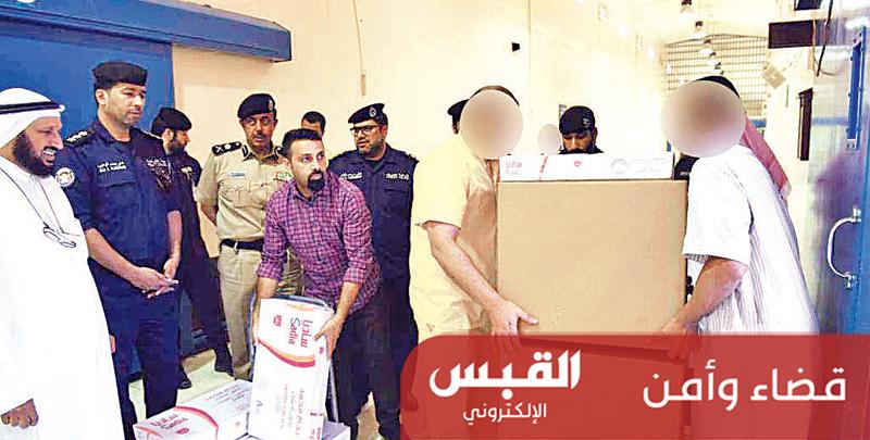توزيع السلال الرمضانية على 4585 سجيناً