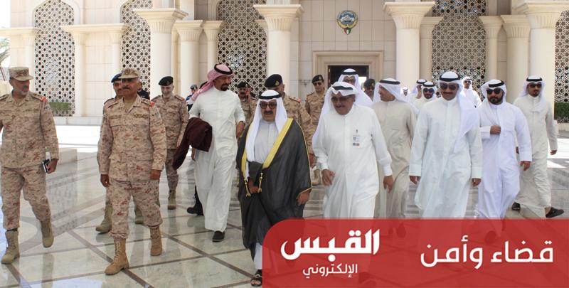 وزير الدفاع يتوجه إلى السعودية لتفقد القوات الكويتية