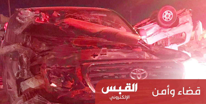 حادث مروري مروع: مصرع 8 أشخاص دهساً في كبد