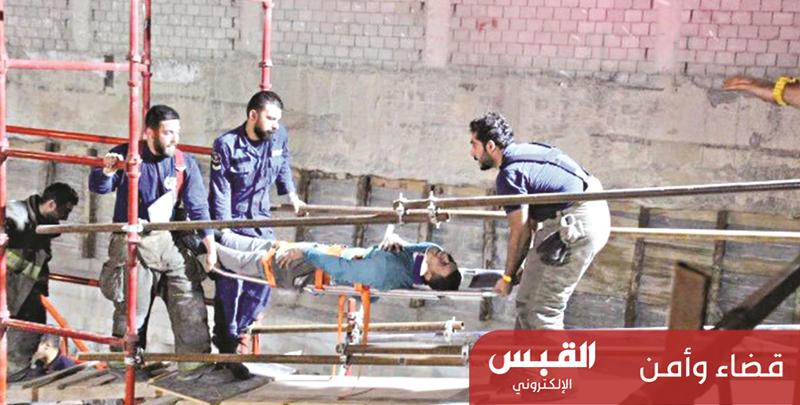 وافد عربي يلقى مصرعه في جورة مصعد
