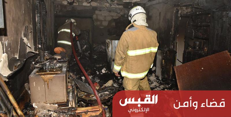 «الإطفاء» تسيطر على حريق عمارة بالفنطاس