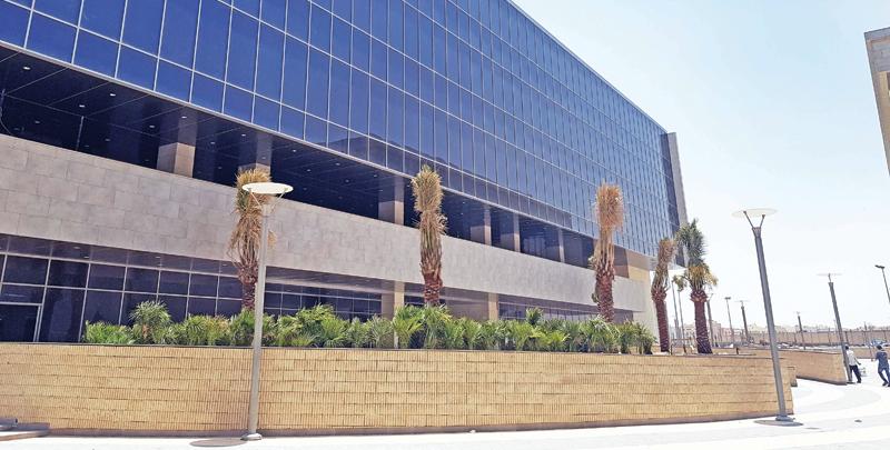 مبنى الكلية الأميركية الدولية