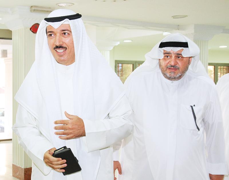 احمد الجابر وبدر الصفار