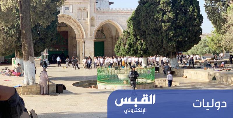 مواجهات بين الاحتلال والمصلين في الأقصى
