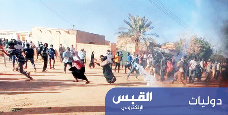محاولة فضّ الاعتصام.. تُشعل السودان